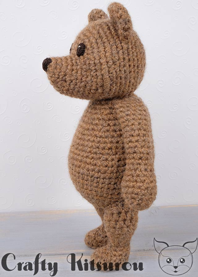 Free Teddy Bear crochet pattern - Amigurumi Today | 896x640