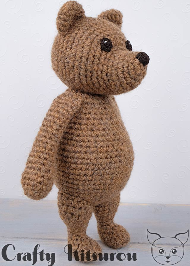 Free Crochet Patterns | Free Crochet Pattern Amigurumi Bear • Free ... | 896x640