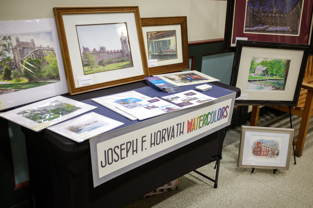 Joseph F. Horvath Watercolors