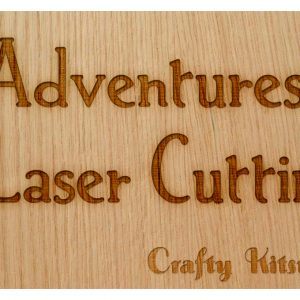 Mis)Adventures in Laser Cutting: Scan Gap – Crafty Kitsurou