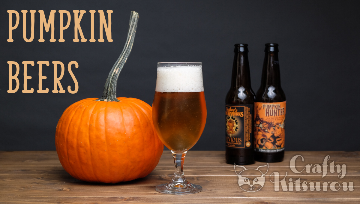 Crafty kitsurou crafts and more founded in 2016 crafts Pumpkin carving beer