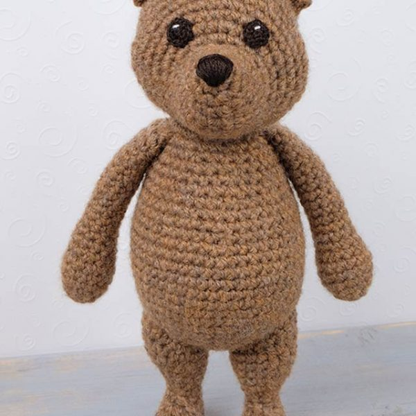 Mr. Bear Amigurumi Crochet Pattern