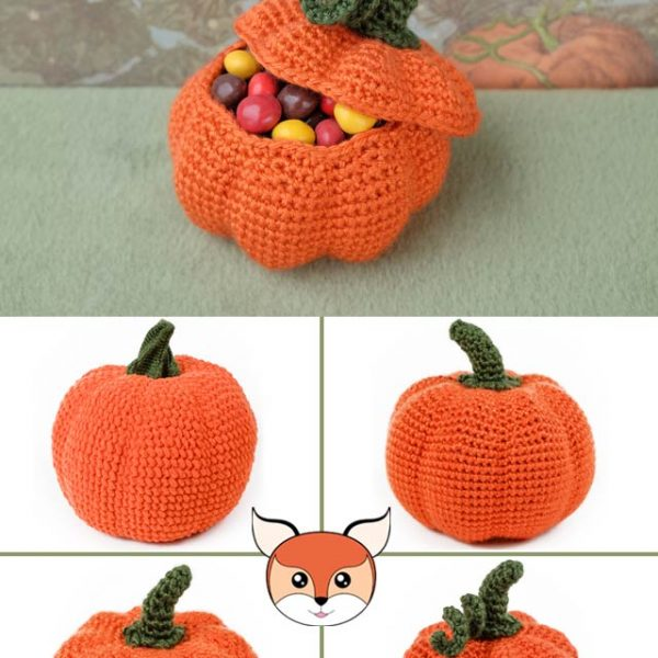 Pattern: Amigurumi Crochet Pumpkins